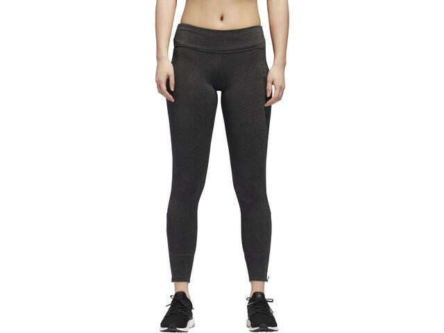 adidas Response Heather Mallas de running Mujer, black/carbon
